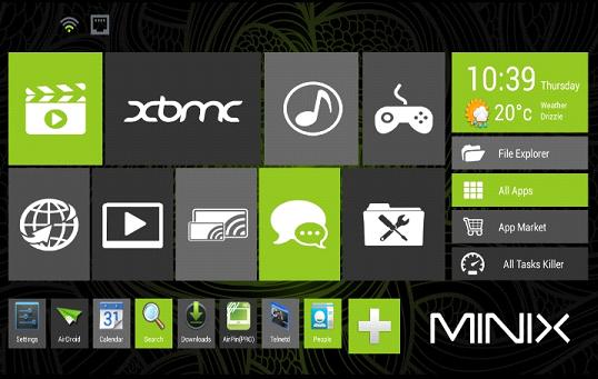 XBMC Minix