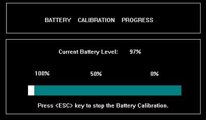 kalibracja baterii