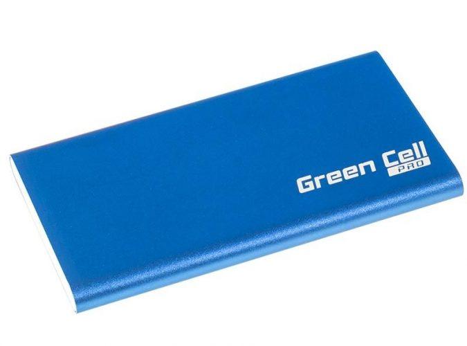 power bank niebieski