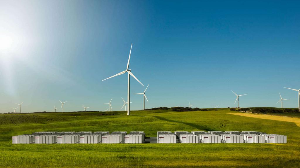 Metody magazynowania energii- farma wiatrowa