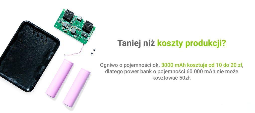 pojemność baterii, jak niedać się oszukać, pojemność power bank