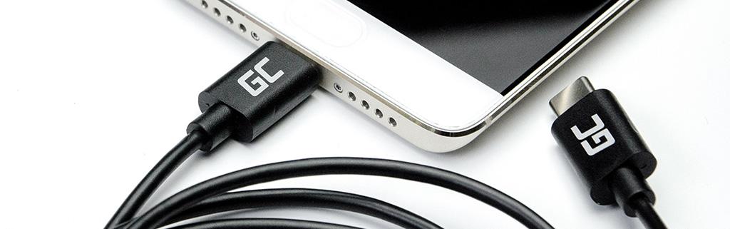wtyczka usb-c zpower delivery, kabel usb-c green cell