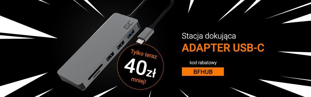 adapter usb-c promocja