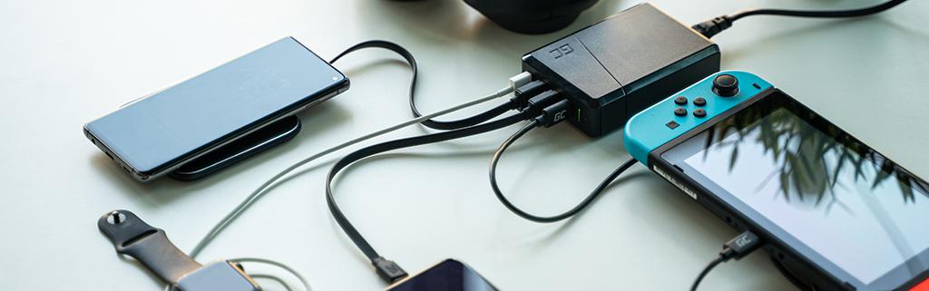 ładowanie nintendo switch iinnych urządzeń