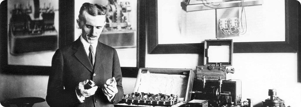 Nikola Tesla – człowiek błyskawica