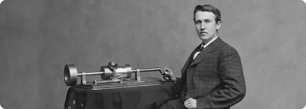 edison fonograf