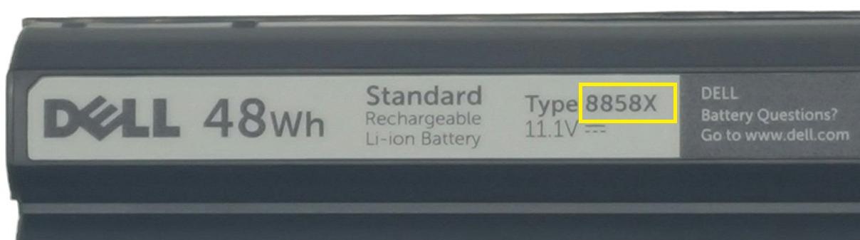 bateria dell