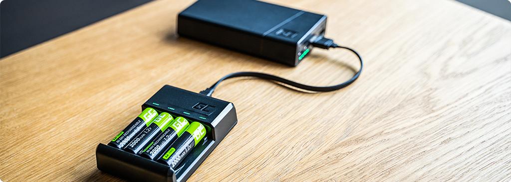 Ładowarki do akumulatorków AA/AAA GC VitalCharger – korzystaj z baterii nawet kilkaset razy