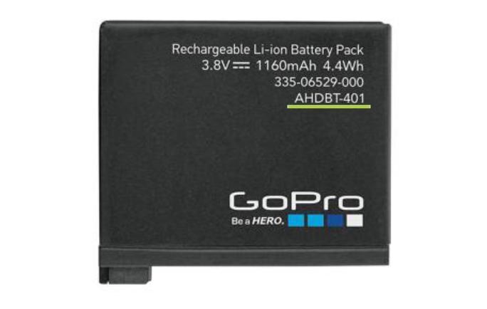 bateria gopro AHDBT-401
