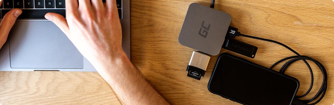 5 możliwości, które zyskujesz z adapterem GC USB-C 6w1