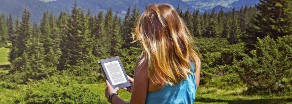 e book czytnik w górach