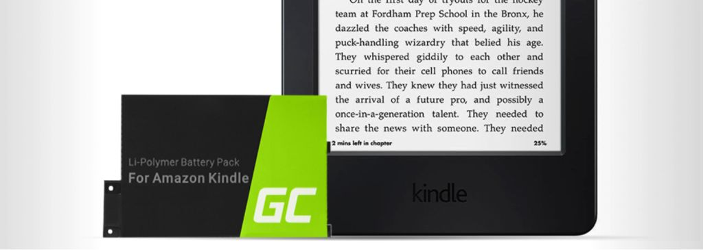 green cell akku fur ebook reader