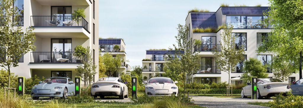 Ładowanie samochodu elektrycznego w bloku. Rozwiązania dla mieszkańców miast