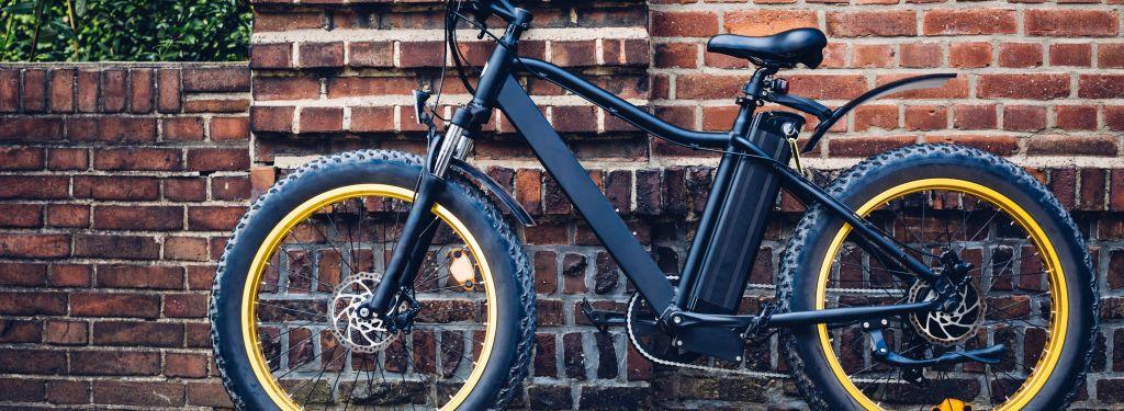 rower elektryczny wmieście
