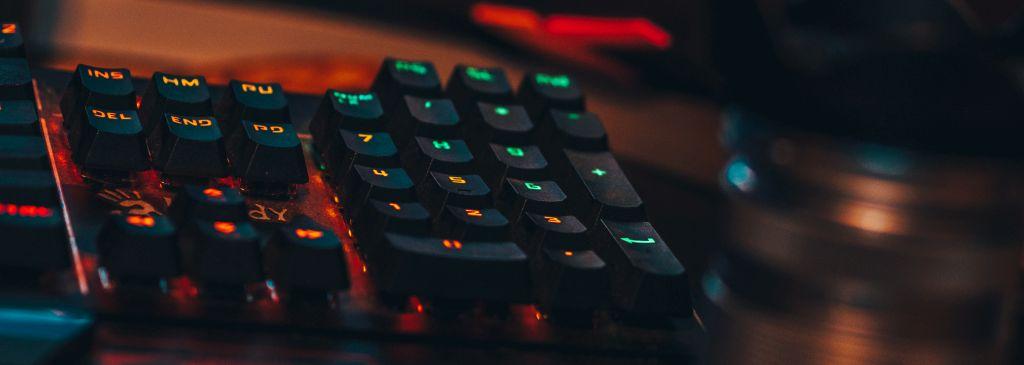 podświetlana klawiatura dolaptopa