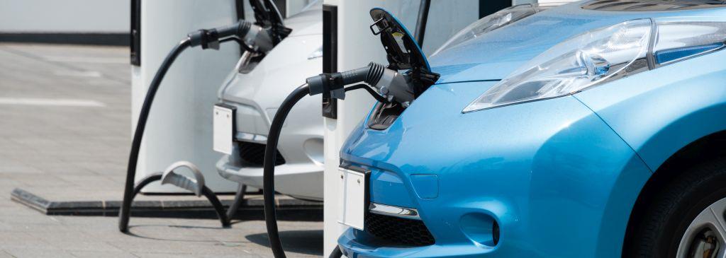 punkt ładowania samochodów elektrycznych