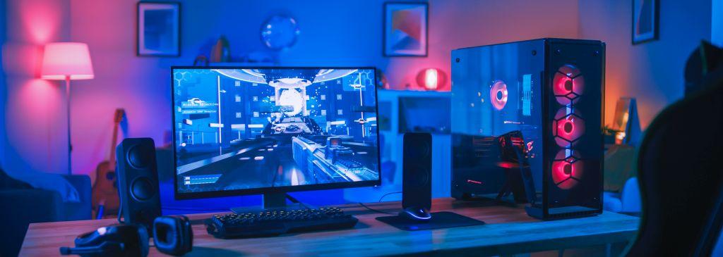 akcesoria dla gracza - pokój gamera