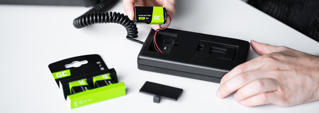 baterie 9V od Green Cell
