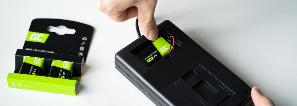 Baterie 9V – czym są i jak je naładować?