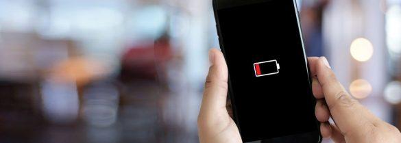telefon na słabej baterii